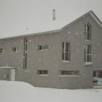 EFH Bonderer 1. Schnee