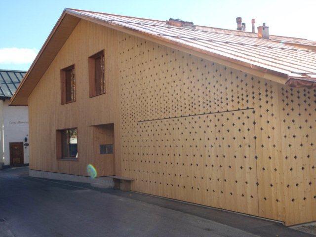 Brunner Architekten neubau efh via vitg in flims gr 2010 jäger holzbau ag