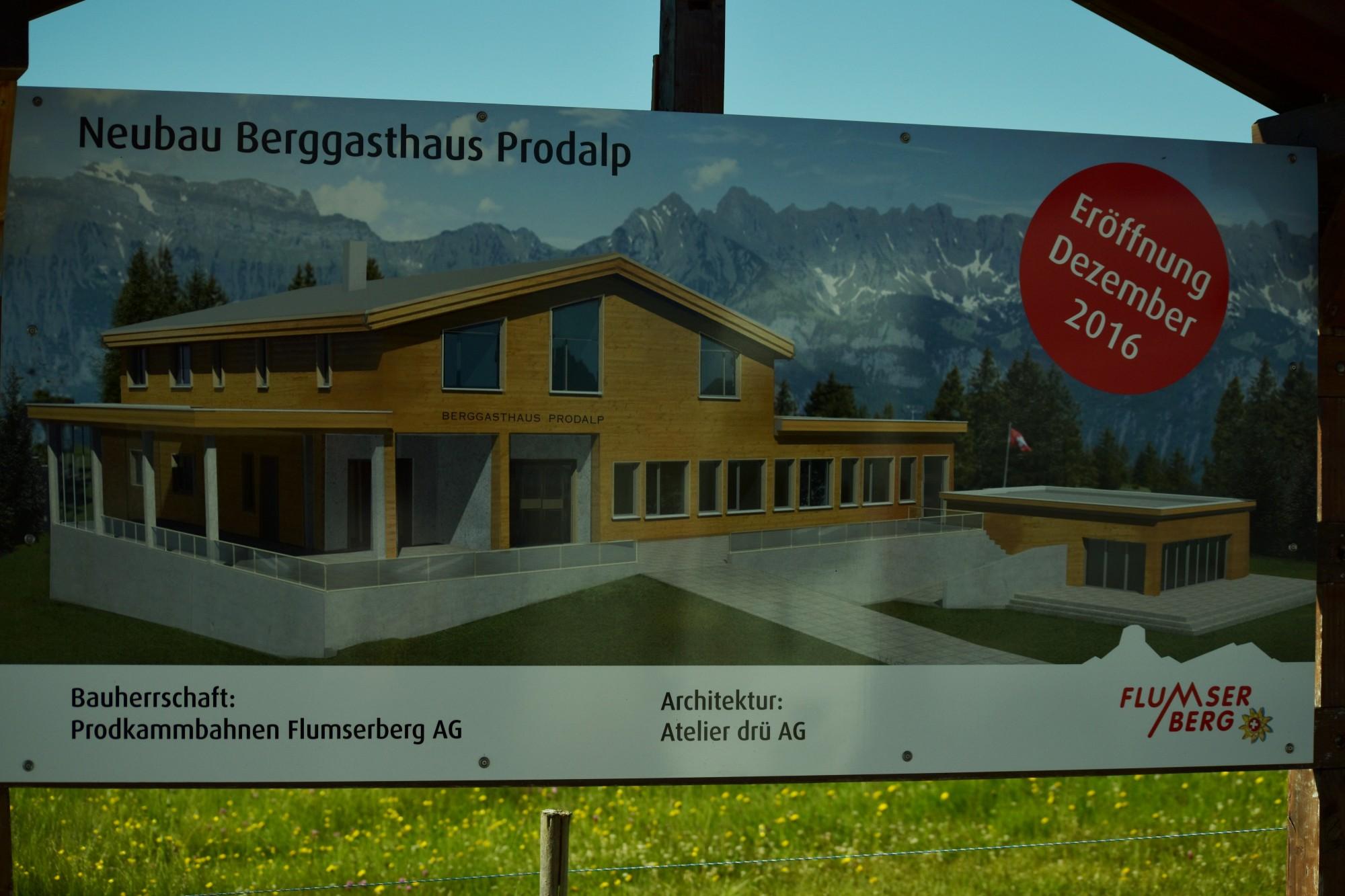 neubau berggasthaus prodalp flumserberg tannenheim j ger holzbau ag. Black Bedroom Furniture Sets. Home Design Ideas